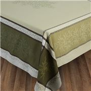 L'Ensoleillade - Jacquard Olive Green T/Cloth 350x160cm