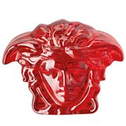 Rosenthal - Versace Medusa Lumiere Paperweight Red