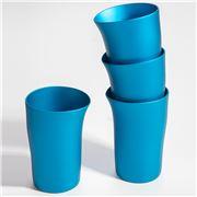 Fink - Beaker Matt Turquoise Set 4pce
