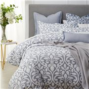 Private Collection - Marina Blue Quilt Cover Set Queen
