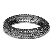 CAM - Crystal Bracelet Gunmetal