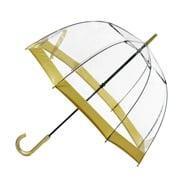 Clifton - Birdcage Umbrella with Gold Border