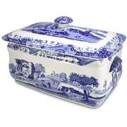 Spode - Blue Italian Bread Bin