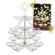 Kitchen Craft - Christmas Tree Cupcake & Mince Pie Stand