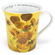 Konitz - Fine Art Mug Flowers Van Gogh