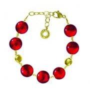 Antica Murrina - Frida Red Gold Murano Bracelet