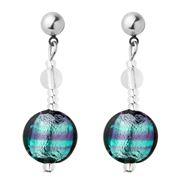 Antica Murrina - Frida Murano Earrings Blue & Purple