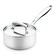 Cuisipro - Stainless Steel Saucepan with Lid 16cm/1.4L