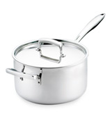 Cuisipro - Stainless Steel Saucepan with Lid 21cm/4.7L