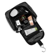 Lapoche - Travel Toiletry Organiser Black