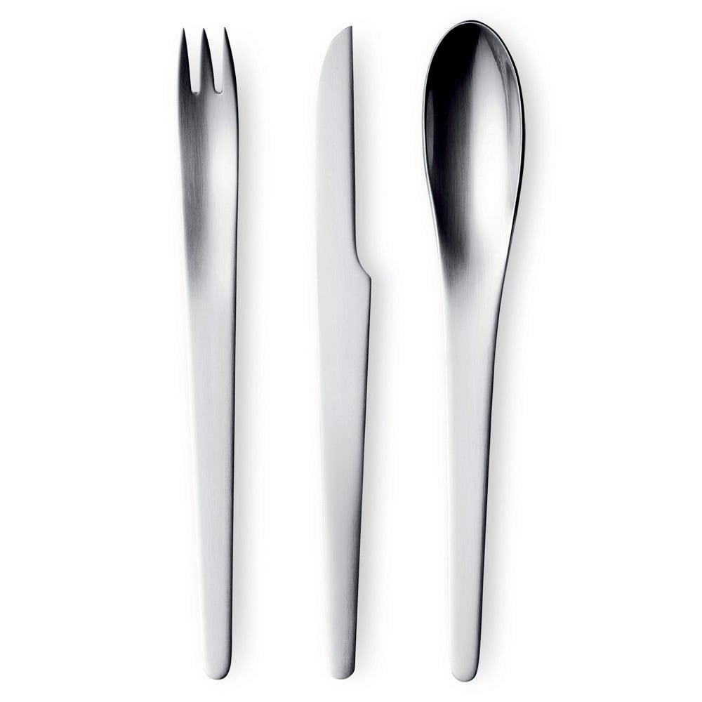 Georg jensen arne jacobsen cutlery set 24pce peter 39 s of kensington - Arne jacobsen flatware ...