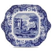 Spode - Blue Italian Square Cake Plate