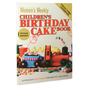 Book - AWW Children's Birthday Cake Book