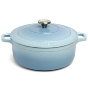 Chasseur - Iceberg Blue Round French Oven 24cm/3.8L