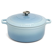 Chasseur - Iceberg Blue Round French Oven 26cm/5.2L