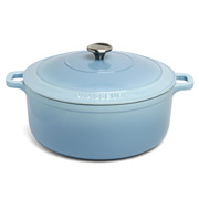 Chasseur - Iceberg Blue Round French Oven 28cm/6.3L
