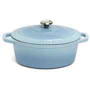Chasseur - Iceberg Blue Oval French Oven 27cm/3.6L