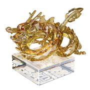Swarovski - Chinese Zodiac Large Golden Dragon