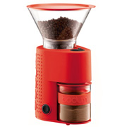 Bodum - Bistro Electric Adjustable Coffee Grinder Red
