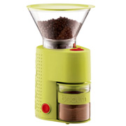 Bodum - Bistro Electric Adjustable Coffee Grinder Lime Green
