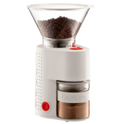 Bodum - Bistro Electric Adjustable Coffee Grinder Off White