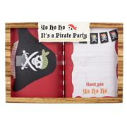 Meri-Meri - Pirate Box Set Invitation and Thank You Notes