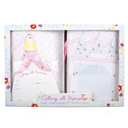 Meri-Meri - Princess Box Set Invitation and Thank You Notes