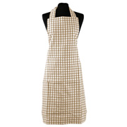 Rans - Apron Gingham Taupe