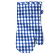 Rans - Gingham Oven Glove Blue