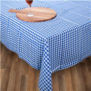 Rans - Gingham Tablecloth Blue Medium