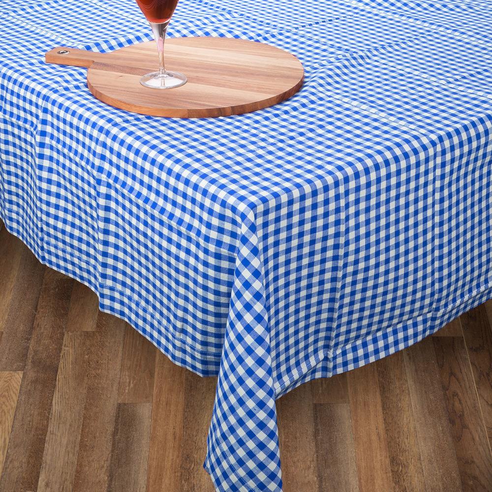 Rans Tablecloth Gingham Blue Medium Peter S Of Kensington