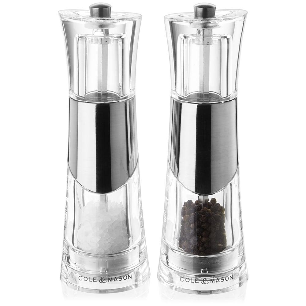 cole  mason  bobbi salt  pepper mill set  peter's of kensington -