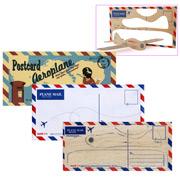 Suck UK - Postcard Aeroplane