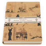 Fiorenza - Bonded Leather Journal A5 Silhouette Francaise