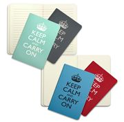 Wild & Wolf - Keep Calm Notebooks