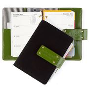 Kate Spade - Anne Black & Green Pocket Organiser