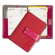 Kate Spade - Anne Red & Hot Pink Pocket Organiser