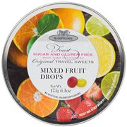 Simpkins - Sugar/Gluten Free Mixed Fruit Travel Sweets 175g