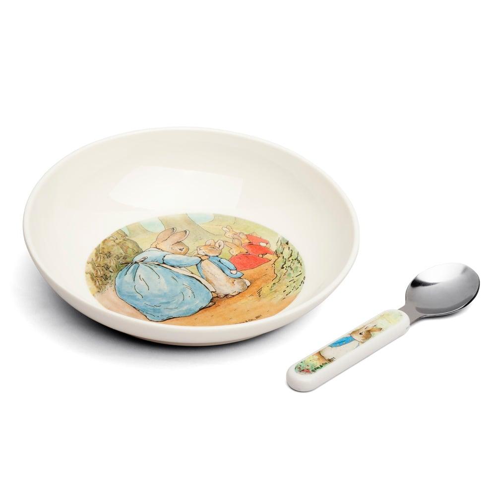sc 1 st  Peteru0027s of Kensington & Peter Rabbit - Bowl And Spoon Set | Peteru0027s of Kensington