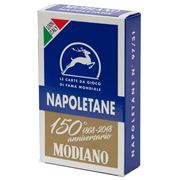 Games - Modiano Napoletane 150th Annversary Cards Blue