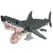 Nanoblocks - Animal Deluxe Great White Shark