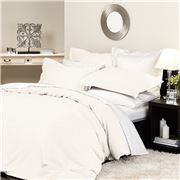 Private Collection - Supima Quilt Cover Set Queen Ivory