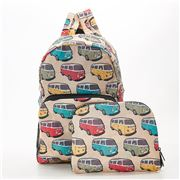 Eco-Chic - Foldable Backpack Camper Van Beige