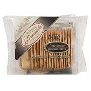 La Panzanella - Mini Croccantini Pepper Artisan Crackers 85g