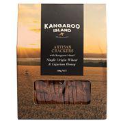 Kangaroo Island - Artisan Crackers w/ Wheat & Honey  100g