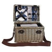 Satara- Lorne  Wicker  Picnic Basket Set For 2