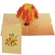 Colorpop - Autumn Oak Tree Greeting Card
