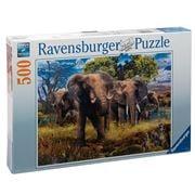 Ravensburger - Elephant Family Puzzle 500pce
