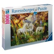 Ravensburger - Unicorns In The Forest Puzzle 1000pce