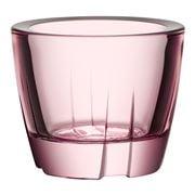 Kosta Boda - Bruk Light Pink Votive